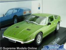 MASERATI INDY COUPE MODEL CAR 1969 1:43 SCALE IXO ALTAYA GREEN K8Q
