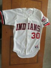 1984 Joe Carter Authentic Cleveland Indians throwback Jersey Size 36 Rawlings