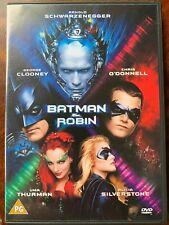 Batman and Robin DVD 1997 DC Superhero Movie w/ Schwarzenegger + George Clooney