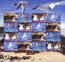 ASCENSION ISLAND 2011 MNH Sheet, BIRDS, WWF, RED BILLED TROPICBIRD