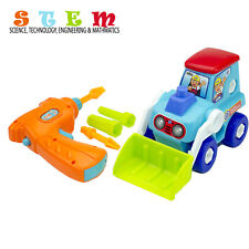 Take Apart Toys STEM Learning Construction Vehicle Play Set Gift Idea for Boys