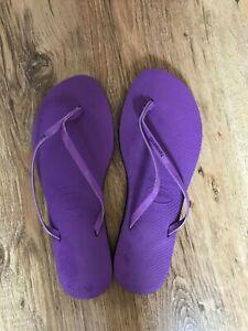 Haviana Flip Flops Size 39/40 BNWOT.