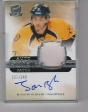 11-12 THE CUP - Patch Auto - Serial # 221/249  JONATHAN BLUM