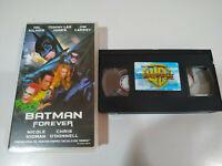 BATMAN FOREVER VAL KILMER JIM CARREY NICOLE KIDMAN - VHS Cinta Tape Español