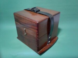 Ships Chronometer, Waltham 8 day outer carrying box