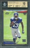 2014 topps prime #150a ODELL BECKHAM giants rookie (pop 1) (PRISTINE) BGS 10
