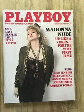 MADONNA playboy 1985 Magazine Excellent Condition