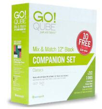 "AccuQuilt GO! Qube (Cube) 12"" Companion Die Set 55782"