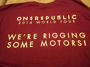 One Republic limited edition T-shirt Brand New/Never Worn