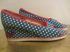 Sugar Brand Shoes Peep Toe Wedges Size 10