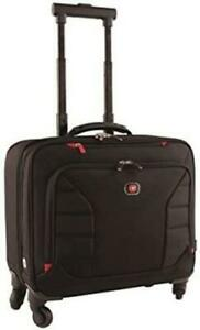 """Wenger INTERCHANGE 17"""" Deluxe Wheeled Laptop Briefcase Padded laptop compartment"""