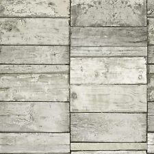 Decoración de paredes de color principal blanco de madera para el hogar