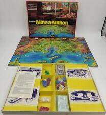 MINE A MILLION Business Vintage Game Waddingtons 1965 100% Complete