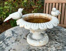 Antique Small & Heavy Cast Iron - Bird Bath