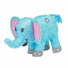 BLUE ELEPHANT PINATA perfect for BABY SHOWERS and JUNGLE EVENTS