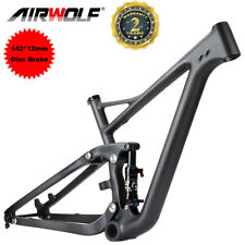 29er Full Suspension Carbon Mountain Bike Frame MTB Frames Air Shock Absorbers​