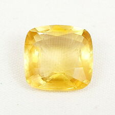 TOP CALCITE : 5,20 Ct Natürlicher Gold Gelb Calcit / Kalzit VVS ( Limespar )