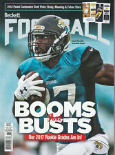 BECKETT FOOTBALL CARD MONTHLY PRICE GUIDE MAY 2018 FOURNETTE COVER