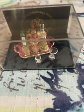 reutter porzellan Dollhouse Miniature Liquor Display