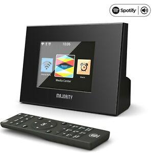 Majority Radio DAB+ Wifi Radio Hi-Fi System Tuner FM Spotify Bluetooth UPNP