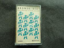 BRONSKI BEAT TRUTHDARE DOUBLEDARE RARE ORIGINAL 1986 SEALED CASSETTE TAPE!