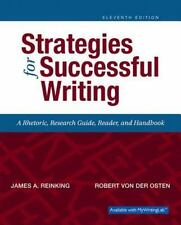 Strategies for Successful Writing : A Rhetoric, Research Guide, Reader, and...