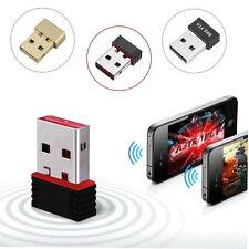 New 150 Mbps 150 m Mini USB Wifi Adaptateur Sans Fil Réseau LAN Carte 802.11n/g/b HT #