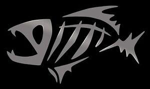 G Loomis Tribal Fish Skeleton Car Truck Boat Window Vinyl Decal Sticker