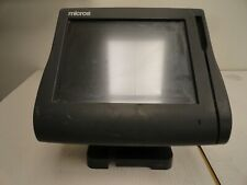 Micros Workstation 4 System Unit Touchscreen Pos 500614 001 Parts Only 5a371j