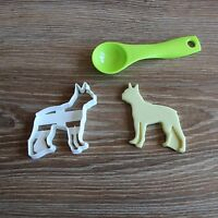 Boston Terrier Cookie Cutter Dog Pup Pet Treat puppy Pupcake topper cake