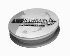 AMS Bowfishing Line, 350# Braided Spectra, White 70 yds.