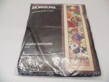 Monarch Horizons Making Whoopee Cross Stitch LS69 -- NEW