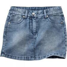 JAKO-O Kinder Mädchen Jeans Rock Jeansrock Rock Softjeans light denim 146 152
