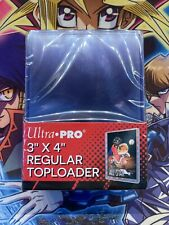 "Sleeves Renforcées Ultra Pro - Toploader x25 - 3x4"" Clear Regular"