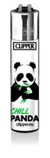 Clipper Feuerzeug Clipper Feuerzeuge Classic Large - Panda Chill -