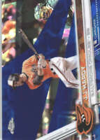 J.J. HARDY 2017 TOPPS CHROME SAPPHIRE EDITION #529 ONLY 250 MADE