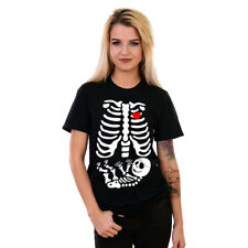 Skeleton Baby T-Shirt Halloween costume Maternity Skeleton Funny Shirt #SKLB