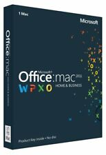 Microsoft Home and Business 2011 (License Only) (1 MAC) - Full Version