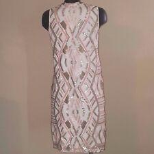 NEW Chelsea & Violet Sz XS Dress ICE PRINCESS Formal $128 Shift Sequin Wedding