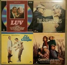 The Odd Couple, Luv, Sunshine Boys & Grumpier Old Men Laserdisc - Walter Matthau