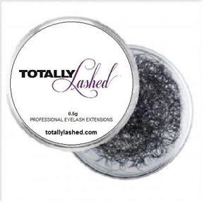 TOTALLY Lashed Individual Eyelash Extensions - Synthetic Mink Bulk Lashes - 0.5g