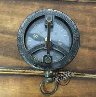 Christmas Gilberte Marking Sundial Compass Naval Nautical Handmade Masterpiec