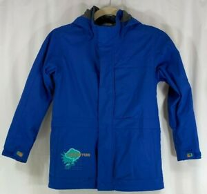 Burton DryRide Youth Ski Snowboard Jacket Hoodie Blue XL 14/16