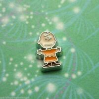 New Charlie Brown Charm - Floating Charm for Memory Story and living Lockets