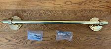 "Ginger ""Metro"" 18"" Towel Bar Polished Brass 0802-3"