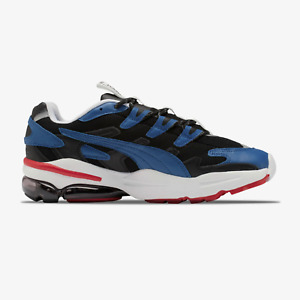 Puma Mens Cell Alien X Karl Lagerfeld Shoes in Black and blue