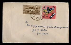 DR WHO 1969 BHUTAN ZHEMGANG TO PARO  f67984