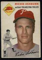 1954 Topps #45 Richie Ashburn VGEX Phillies A4266