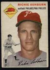 1954 Topps #45 Richie Ashburn VGEX Phillies A4266