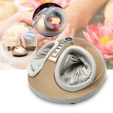 3D Shiatsu Air Pressure Heated Foot Massager Heating Kneading Rolling Therapy